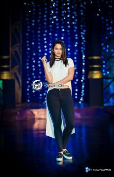 #FemaleStylishStar @Rakulpreet in @Zara & @pullandbear for #Winner Promotions ! Styled By @NeerajaKona  Photography By @RangdePhoto.