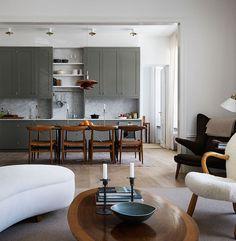 This luminous Stockholm apartment has that Nordic elegance we love.
