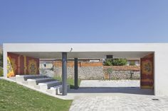 City Center Pavilion and Main Square / Comac