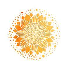 Sun Mandala Art Print by Aloke Design | Society6