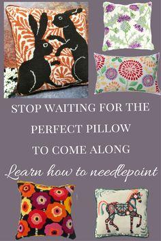 No Sew Fleece Blanket Kits Hobby Lobby : fleece, blanket, hobby, lobby, Needlepoint, Instruction, Ideas, Needlepoint,, Stitches,, Needlework