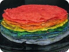 Kids love Roy G. Interact with kids better by making rainbow colored crepes at home. Crepe Recipes, Crepes, Rainbow Colors, Recipe Ideas, Kids, Food, Young Children, Boys, Pancakes