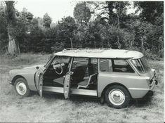 Citroen DS Safari publicity photo