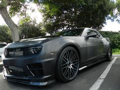SEMA Project Builder Sam Piazza Brings 2010 Chevy Camaro SS to Las Vegas #knfilters