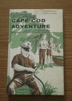 Vintage Childrens Book Cape Cod Adventure 1964