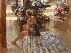 Paul Hedley 1947   pintor figurativo británico