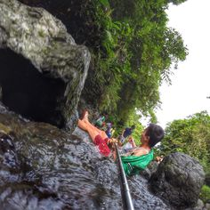 Oops, I slipped while on the way to Ditumabo Mother Falls. Caught on cam! Baler, Aurora, Haha, Ha Ha, Northern Lights