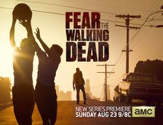 FEAR THE WALKING DEAD. From Executive Producers Robert Kirkman and Dave Erickson. Starring Kim Dickens, Cliff Curtis, Frank Dillane, Alycia Debnam-Carey, Elizabeth Rodriguez, and Ruben Blades. Premiering on AMC on August 23, 2015.