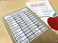 A PBIS Idea: Positive Notes Home  The Brown Bag Teacher shares her templates and her organizational method for sending positive messages about student behavior home.