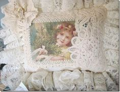 Lace Victorian Pillow