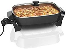 Looking for Hamilton Beach Deep Dish Durathon Ceramic Skillet (Renewed) ? Check out our picks for the Hamilton Beach Deep Dish Durathon Ceramic Skillet (Renewed) from the popular stores - all in one. Easy Skillet Meals, Skillet Cooking, Easy Meals, Pan Cooking, Best Electric Skillet, Electric Skillet Recipes, Cooking Time, Cooking Recipes, Cooking Tools