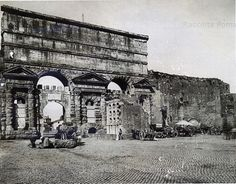 Porta Maggiore 1860