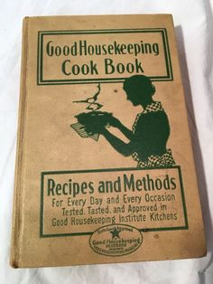 Good Housekeeping Cookbook 1933 Rare First Edition