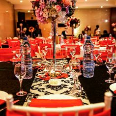 Red Carpet Wedding Theme By Event Leaty S