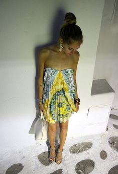 , MSGM in Dresses, Chiara Ferragni in Heels / Wedges