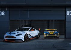 "Aston Martin's Vantage GT3 is designed to ""bridge the gap between road and track""."