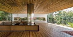 casa no morumbi, são paulo | projeto: isay weinfeld | detalhes do piso superior