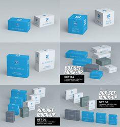 TinyDesignr - Daily Freebies for Designers Box Packaging, Packaging Design, Shampoo Bottles, Scene Creator, Free Boxes, Tea Box, Box Mockup, Box Design, Psd Templates