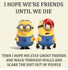 Funny memes: I hope we're friends until we die  http://ift.tt/2gLipkJ