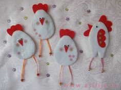 Магниты на холодильник – Цыплята