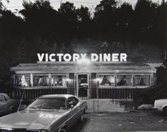 Tom Baril - Victory Diner, Staten Island 1982 #photography