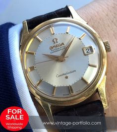 WORLD CLASS Omega Constellation Solid 18ct Gold - Full Set - Genine Paper #constellation #omegaconstellation #boxandpapers