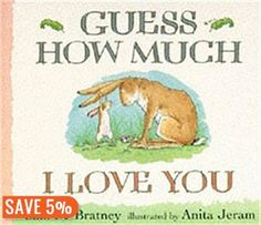 Guess How Much I Love You - Sam McBratney (Author), Anita Jeram (Illustrator) My Little Kids, Good Books, My Books, Love Can, My Love, Anita Jeram, Margaret Wise Brown, Baby On A Budget, Wonder Book