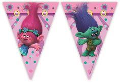 Banderines para decoracion de fiestas o #cumpleaños de los Trolls, super bonitos!!  #trolls #cumpleañostrolls #fiestatrolls #decoracionfiestatrolls #trollspartydecorations #trollsbirthday #globostrolls #trollsparty #decoraciondefiestas #fiestatematica #fiestasbonitas