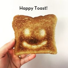 How to make your own HAPPY TOAST!