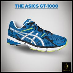 The #Asics GT-1000 offers excellent stability and cushioning at a budget-friendly price. The GT-1000 is loaded with stability features. It's firm post under the heel & arch controls pronation, while a slimmer plastic shank provides plenty of mid-foot stiffness. #Sumaya #Running #AirtelDelhiHalfMarathon