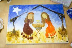christmas nativity craft ideas for kids Preschool Christmas Crafts, Kids Christmas Ornaments, Christmas Activities For Kids, Nativity Crafts, Christmas Nativity, Crafts Toddlers, Family Crafts, Christmas Bells, Felt Ornaments