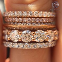 Eternity Band Stack