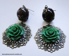 Earrings - for more information go to www.glamaccessories.weebly.com or https://www.facebook.com/GlamAccess0ries