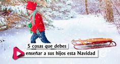 La Navidad es una magnífica oportunidad para verter las verdades del Evangelio en los corazones de nuestros hijos. Es un momento ideal para mostrarles el regalo más grande que jamás podría recibir: el don de Jesucristo
