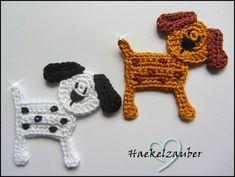 Hund, Welpe (Freie Farbwahl) von Halime´s Haekelzauber auf DaWanda.com