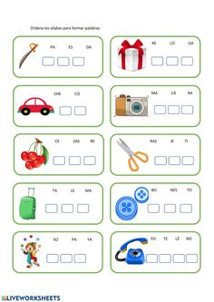 Spanish Lessons For Kids, Teaching Spanish, Handwriting Worksheets, Pre Writing, Home Schooling, Your Teacher, Learning Centers, Preschool Activities, Homeschool