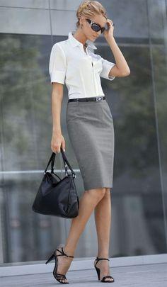 fashion according to psychology knee skirt