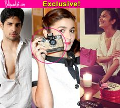 This weekend was definitely special for the Highway babe, who turned 22. And someone dear made this day extra special for her! Sidharth Malhotra certainly knows to impress the ladies. And this includes his ladylove Alia Bhatt. We've learnt that Sid gifted his girlfriend an expensive camera.Yes