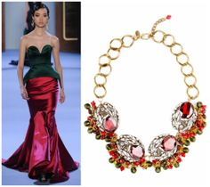 Ulyana Sergeenko, Couture Dresses, Jewelry Collection, Glamour, Style Inspiration, Formal Dresses, Color, Shopping, Fashion