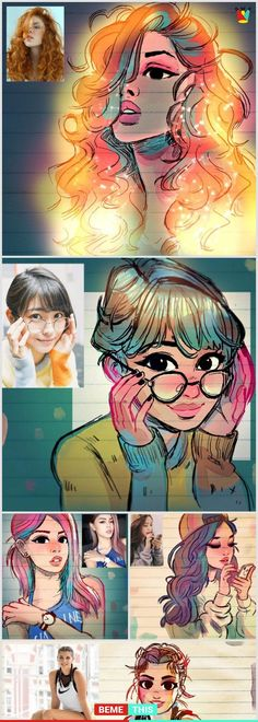 Artist Transforms People Into Cartoons And They Will Blow Your Mind - bemethis