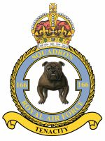 #166 Squadron RAF was a Royal Air Force squadron that formed just after the end of World War I. It was the first and one of only three to be equipped with the Handley Page V/1500 heavy bomber. The squadron was formed on 13 June 1918 at RAF Bircham Newton as the first squadron to be equipped with the Handley Page V/1500 heavy bomber. The squadron was re-formed on 1 November 1936 at RAF Boscombe Down from B Flight of 97 Squadron with the Handley Page Heyford III heavy bomber.