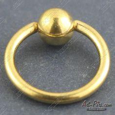 """Кольцо """"Анодированное золото""""."""