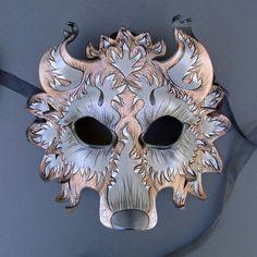 This listing is reserved for Lara . One leather Gray Fantasy Wolf mask similar to the one in the first picture. Cosplay, Fantasy Wolf, Leather Mask, Leather Tooling, Beautiful Mask, Carnival Masks, Venetian Masks, Masquerade Ball, Mascarade Mask