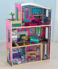 Take a look at this Glitz & Glamour Dollhouse by KidKraft on #zulily today!