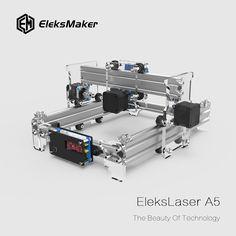 Máquina de gravura a laser EleksMaker® EleksLaser-A5 Pro 2500mW Impressora a laser CNC