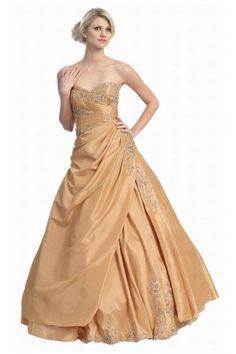 Classic Sweetheart Taffeta Floor-length A-line Sleeveless Wedding Dresses