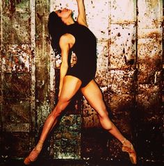 Misty Copeland...my goodness those muscles!