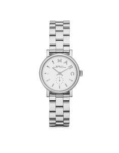 Baker 28 MM Silver Tone Stainless Steel Women's Watch #DesignerHandbags #DesignerShoes