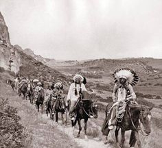 Comanche Indians in Palo Duro Canyon photograph taken 1890's on JA ranch…