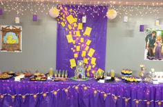 Rapunzel/Tangled Birthday Party Ideas | Photo 2 of 37